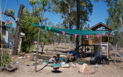 Tour of Camp Binbee #StopAdani Blockade