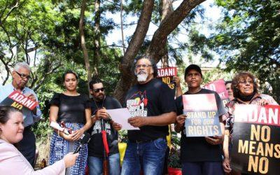 Recognising the Wangan and Jagalingou resistance to Adani